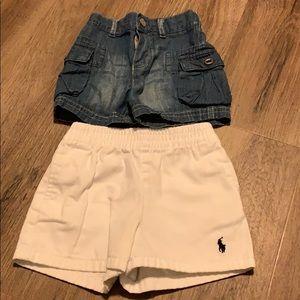 Baby boy Ralph Lauren Polo Short's